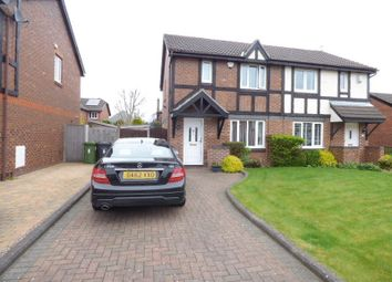 Thumbnail 3 bed semi-detached house for sale in The Fieldings, Lydiate, Liverpool