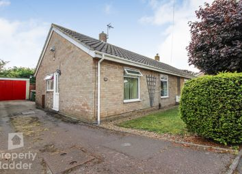 Thumbnail 2 bed semi-detached bungalow for sale in Three Corner Drive, Old Catton, Norwich