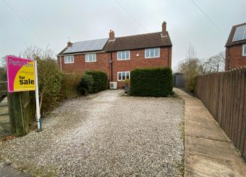 Station Road, Wressle, Selby YO8. 3 bed semi-detached house for sale
