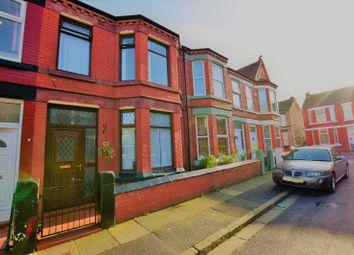 Thumbnail 3 bed terraced house for sale in Wordsworth Avenue, Birkenhead