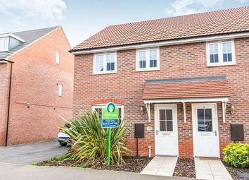 Thumbnail 3 bed semi-detached house for sale in Vespasian Way, North Hykeham, Lincoln