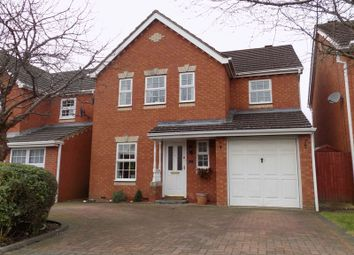 Thumbnail 4 bed detached house for sale in Laughton Way, Swindon