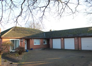 Thumbnail 5 bed detached bungalow for sale in Haze Lane, Nort Hykeham