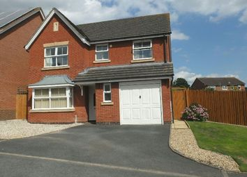 Thumbnail 4 bed detached house for sale in Hazle Close, Ledbury