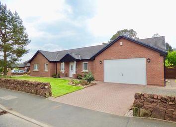 Thumbnail 4 bed detached bungalow for sale in Woodlands Drive, Lochmaben, Lockerbie