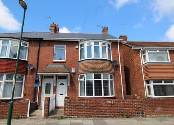 Thumbnail 3 bed flat for sale in Gladstone Street, Hebburn, Tyne And Wear