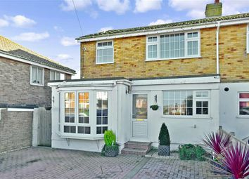 Thumbnail 4 bedroom semi-detached house for sale in Headland Close, Peacehaven, East Sussex