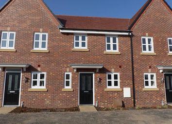 Thumbnail 3 bedroom terraced house for sale in Holst Gardens, Jack Lane, Moulton, Cheshire