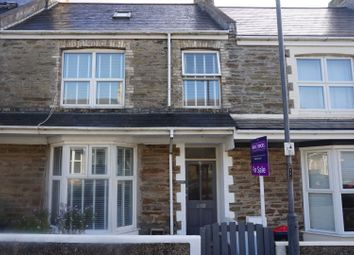Thumbnail 3 bed terraced house for sale in Jubilee Street, Newquay