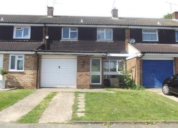 Thumbnail 3 bed terraced house to rent in Woodbridge Close, Luton