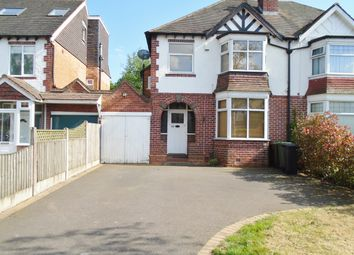 Thumbnail 3 bed semi-detached house to rent in Westbourne Road, Solihull