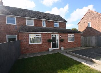 Thumbnail 3 bed semi-detached house for sale in Greenside Avenue, Brunswick Village, Newcastle Upon Tyne
