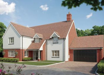"""Thumbnail 5 bed detached house for sale in """"The Hallfield"""" at Green Road, Rickling Green, Saffron Walden"""