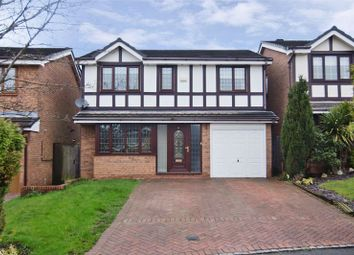 Thumbnail 4 bed detached house for sale in Canterbury Way, Heath Hayes, Cannock
