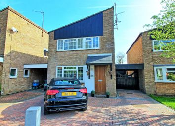 Thumbnail 3 bed detached house for sale in Porters Close, Buntingford