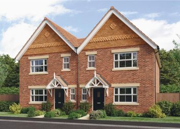 "Thumbnail 3 bed semi-detached house for sale in ""Melbourne"" at Alfrey Close, Southbourne, Emsworth"