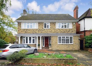 Thumbnail 4 bed detached house for sale in Russell Road, Buckhurst Hill, Essex