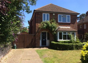 Thumbnail 3 bed detached house to rent in Bagshot Road, Knaphill, Woking