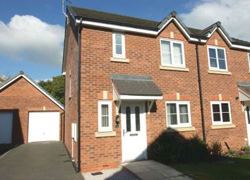 Thumbnail 2 bedroom semi-detached house to rent in Bilberry Grove, Buckley, Flintshire, 2Re.
