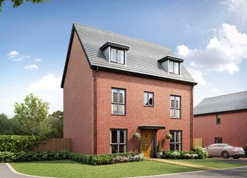 """Thumbnail 4 bedroom property for sale in """"The Kingsford"""" at Spon Lane, Grendon, Atherstone"""