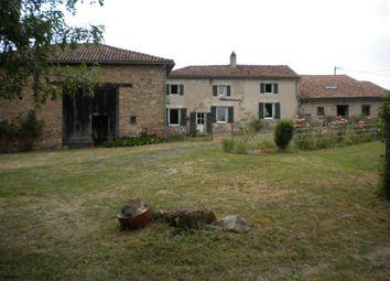 Thumbnail 3 bed farmhouse for sale in Poitou-Charentes, Charente, Manot