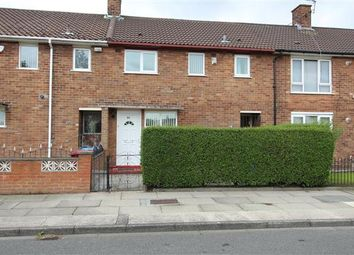 Thumbnail 3 bed terraced house to rent in Lindby Road, Kirkby, Liverpool