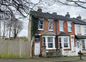 Thumbnail 2 bed end terrace house for sale in 1 Leonard Road, Chatham, Kent