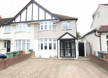Thumbnail 3 bed end terrace house for sale in Henley Avenue, North Cheam, Sutton