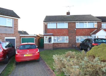 Thumbnail 3 bed semi-detached house for sale in Calvert Close, Belvedere, Kent