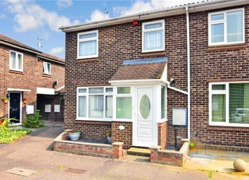 Thumbnail 3 bed end terrace house for sale in Crown Avenue, Pitsea, Basildon, Essex