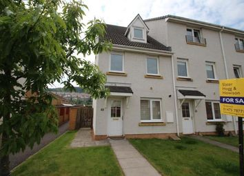 Thumbnail 3 bed end terrace house for sale in Scott Way, Greenock, Inverclyde