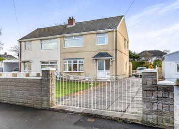Thumbnail 3 bed semi-detached house for sale in Hawthorne Avenue, Gorseinon, Swansea