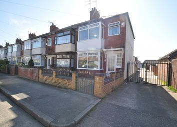 Thumbnail 3 bed end terrace house for sale in Bedale Avenue, Hull