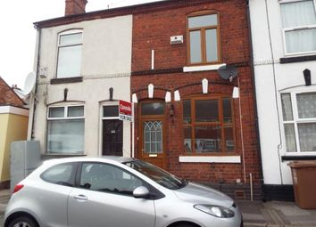 Thumbnail 2 bedroom terraced house for sale in Queen Mary Street, Walsall, West Midlands