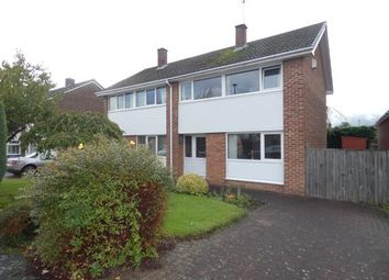 Thumbnail 3 bed semi-detached house for sale in Heronswood Drive, Spondon, Derby, Derbyshire