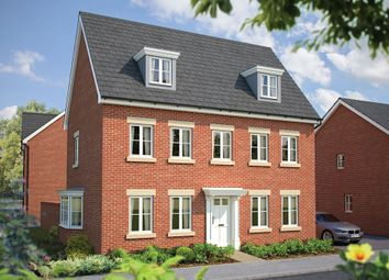 "Thumbnail 5 bed detached house for sale in ""The Warwick"" at Maddoxford Lane, Botley, Southampton"