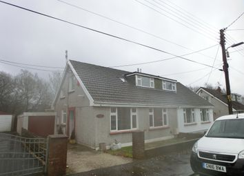 Thumbnail 3 bed bungalow to rent in Heol Y Parc, Pontlliw, Swansea