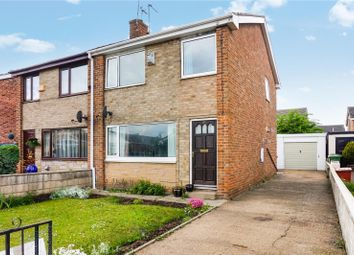 Thumbnail 3 bed semi-detached house for sale in Downland Crescent, Knottingley
