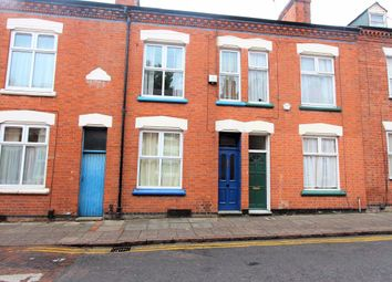 Thumbnail 3 bed terraced house to rent in Myrtle Road, Leicester