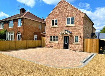 Thumbnail 3 bed detached house for sale in Coates Road, Whittlesey, Peterborough