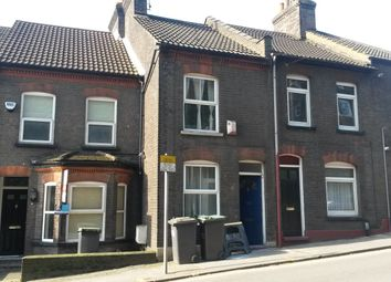 Thumbnail 3 bedroom terraced house to rent in Hitchin Road, Luton