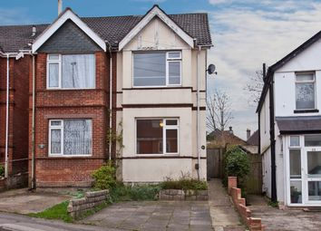 Thumbnail 3 bed semi-detached house for sale in Richmond Road, Lower Parkstone, Poole