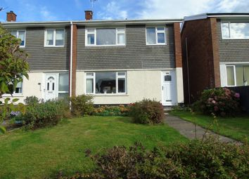 Thumbnail 3 bed end terrace house for sale in Raglan Close, Dinas Powys