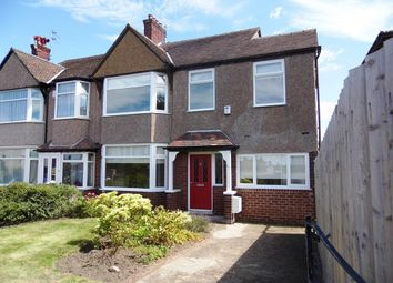Thumbnail 4 bed semi-detached house for sale in Claremount Road, Wallasey