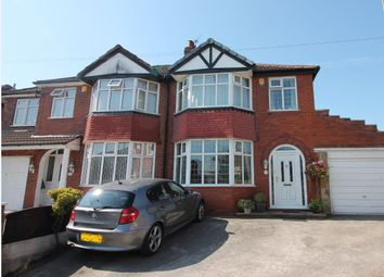 Thumbnail 3 bed semi-detached house for sale in Lowood Avenue, Urmston, Manchester