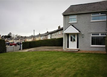 Thumbnail 3 bed semi-detached house for sale in Cae Mur, Caernarfon