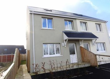 Thumbnail 3 bed semi-detached house for sale in Crug Yr Efydd, Crymych, Pembrokeshire