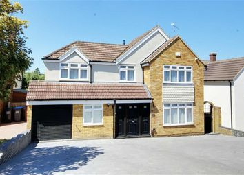 Thumbnail 5 bed detached house for sale in Warwick Avenue, Cuffley, Hertfordshire