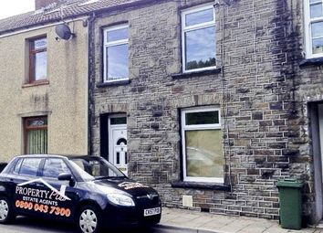 Thumbnail 3 bed terraced house to rent in Station Terrace, Mountain Ash -, Mountain Ash