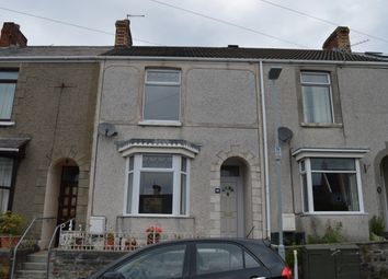 Thumbnail 3 bed terraced house to rent in Bay View Terrace, Brynmill, Swansea.